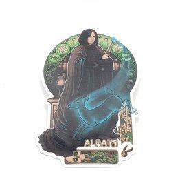 Always, Severus Snape Sticker - Megan Lara