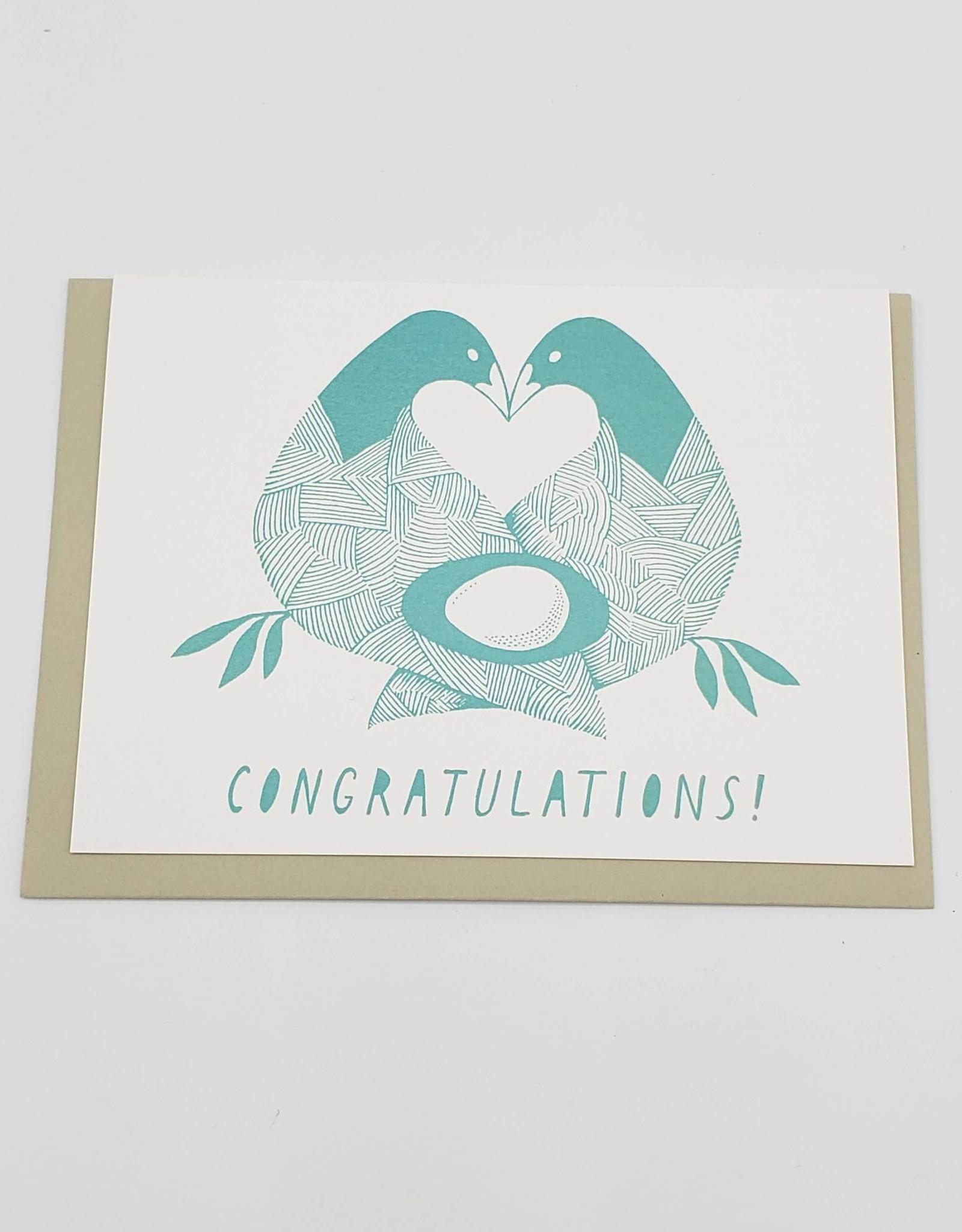 Congratulations Baby Greeting Card - Sarah Landwehr