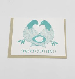 Congratulations Baby Greeting Card - Sarah Landwehr