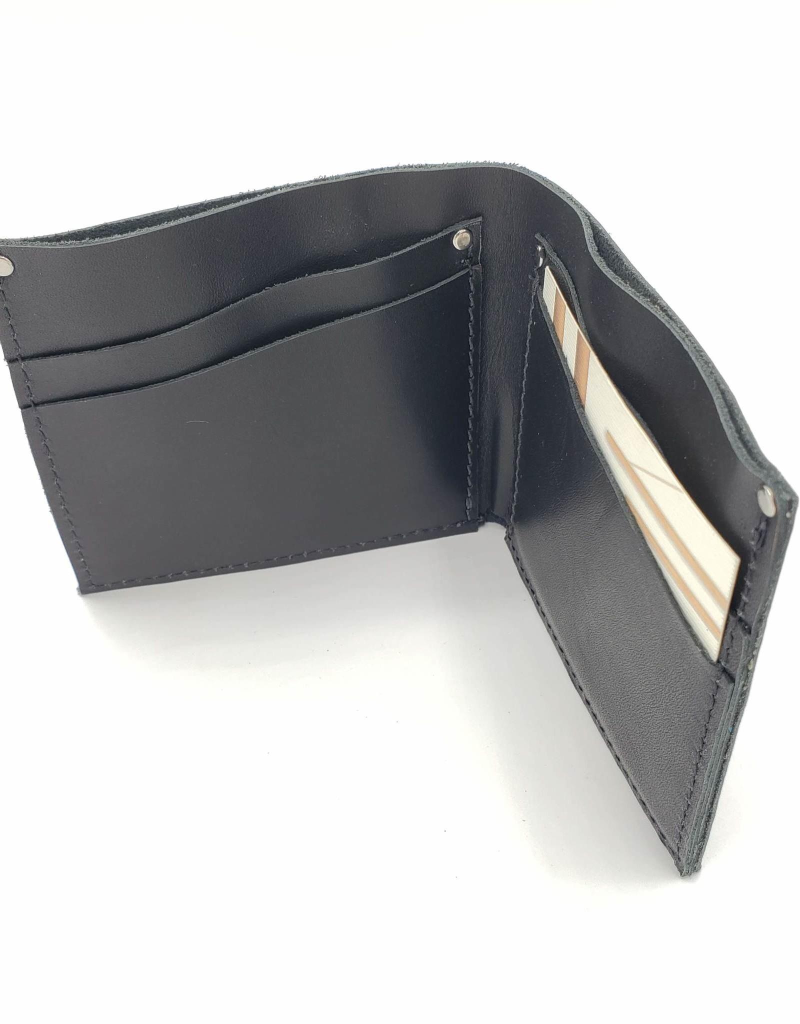 Leather Half Fold Wallet by Greybeard