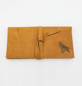 In Blue Handmade Falcon - Leather Pocketbook Wallet