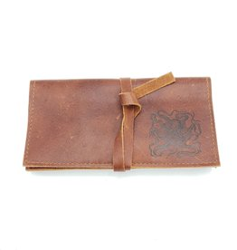 In Blue Handmade Octopus - Leather Pocketbook Wallet