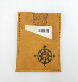 Compass - Train Ticket & Card Leather Wallet