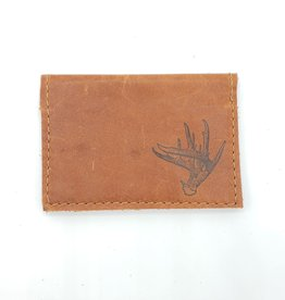 Antler - Leather Fold Over Card Wallet