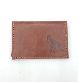 Falcon - Leather Fold Over Card Wallet