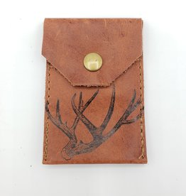 Antler - Leather Snap Card Wallet