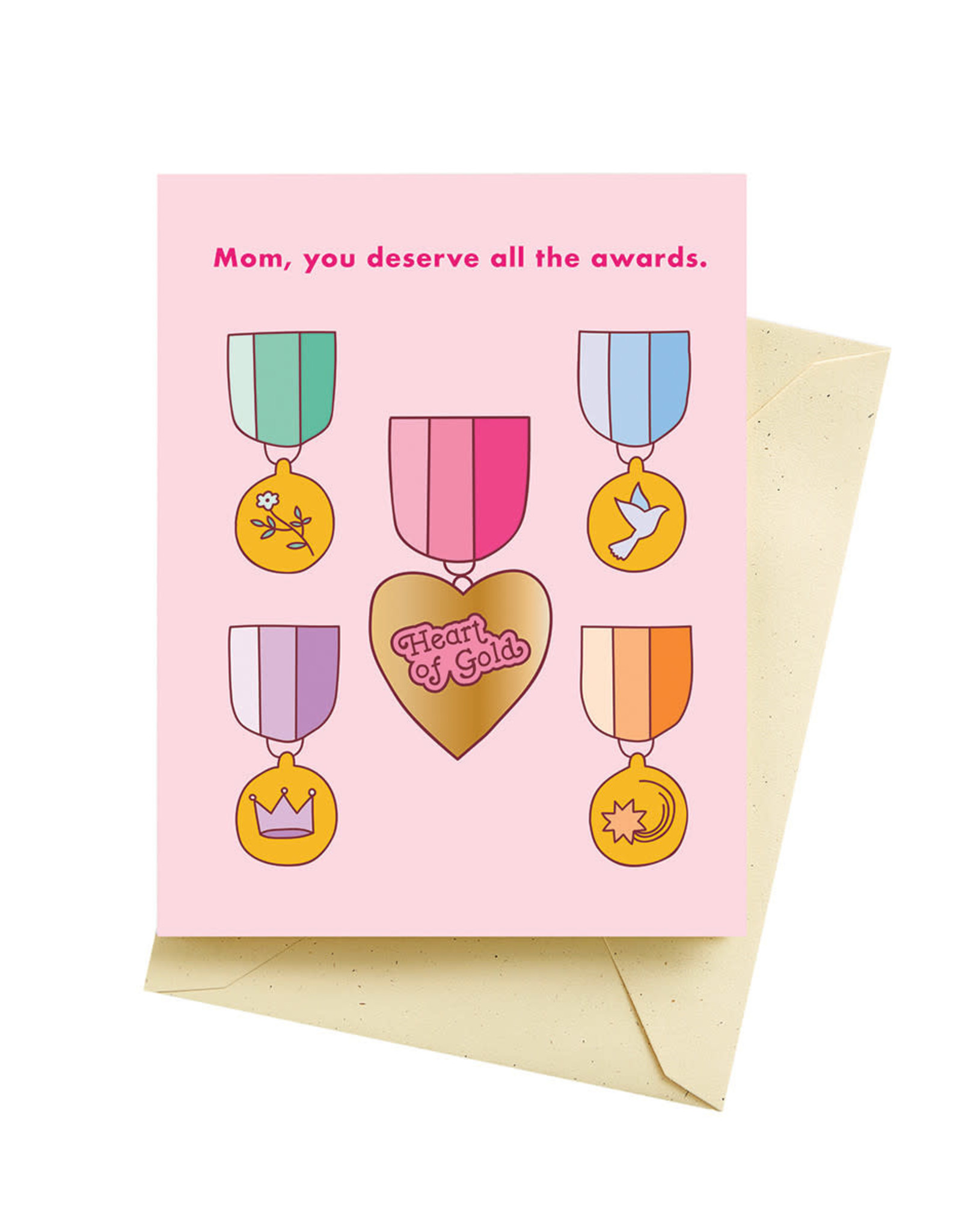 Seltzer All the Awards - Happy Mother's Day Greeting Card - Seltzer