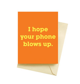 Seltzer Blow Up Birthday Greeting Card - Seltzer