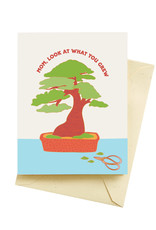 Seltzer Bonsai Tree Mother's Day Greeting Card - Seltzer