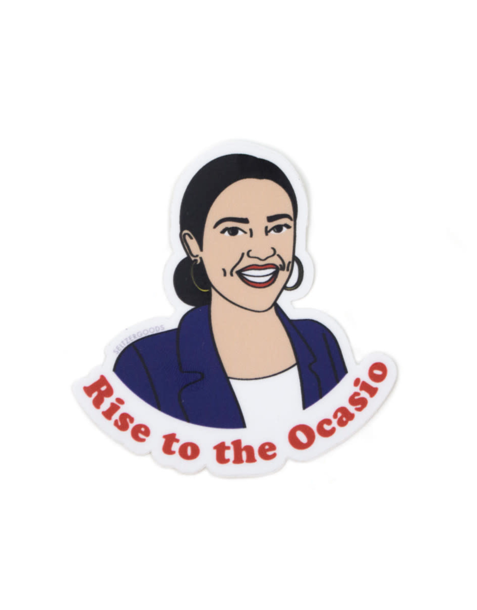 Seltzer Rise to the Ocasio AOC Sticker - Seltzer