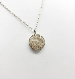 by Kali Tiny Resinated White Sand Necklace - by Kali