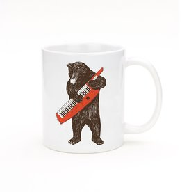 Seltzer Bear with Keytar Mug by Seltzer