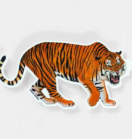 Tiger Sticker - Berkley Illustration
