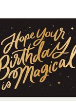 Magical Birthday Greeting Card - Dahlia Press