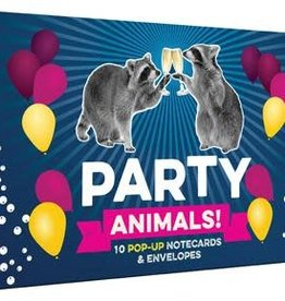 Party Animals! Pop-up Notecards