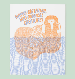 Happy Birthday, You Magical Creature! Greeting Card - The Good Twin