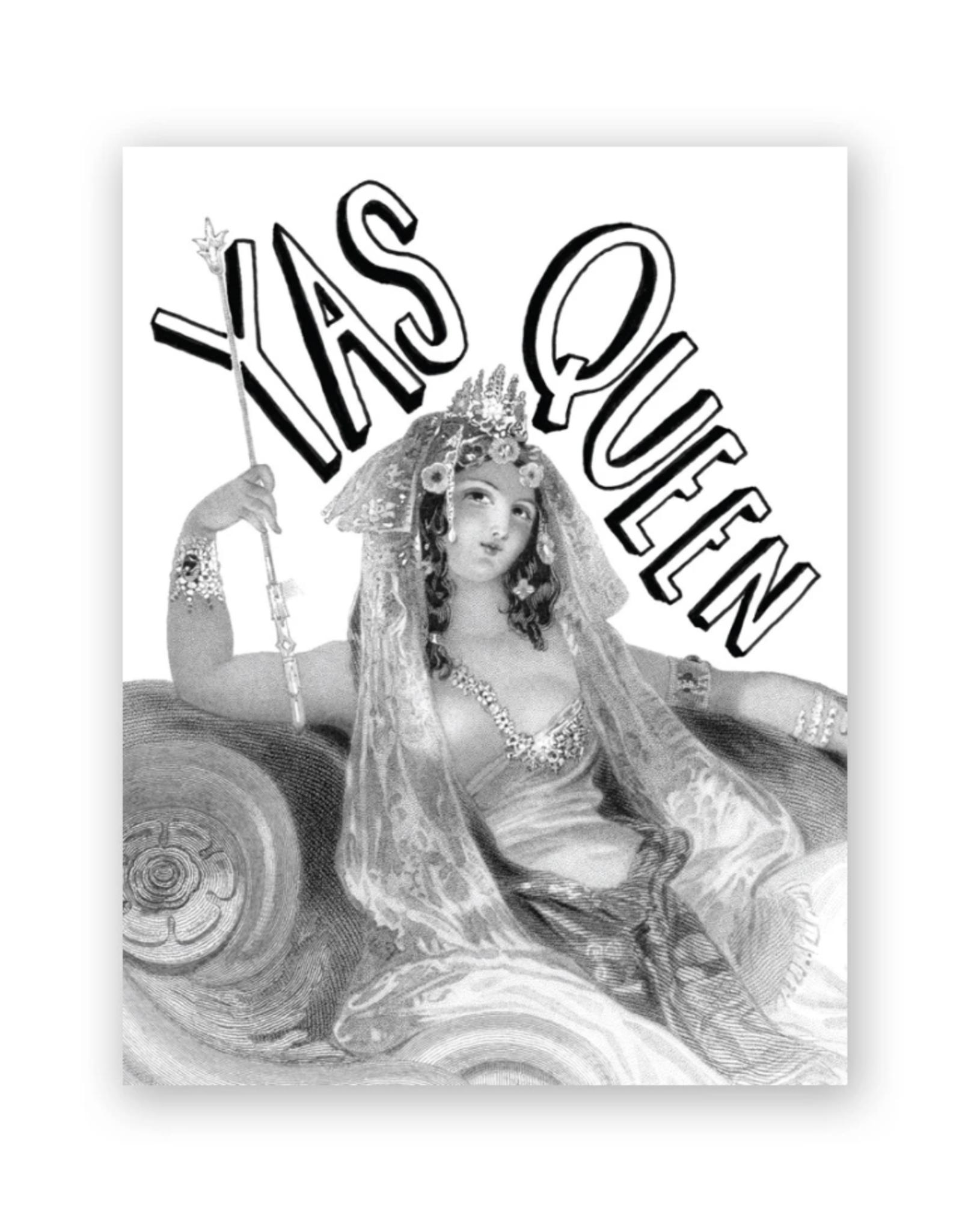 Mincing Mockingbird Yas Queen Greeting Card - The Mincing Mockingbird