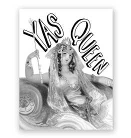 Mincing Mockingbird Yas Queen Greeting Card - The Mincing Mockingbird