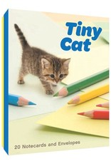 Tiny Cat Notecards 20 Notecards and Envelopes