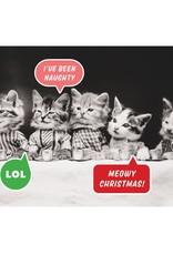 Vintage Cat Memes Half Notecards