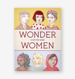 Wonder Women Go Fish Game by Isabel Thomas