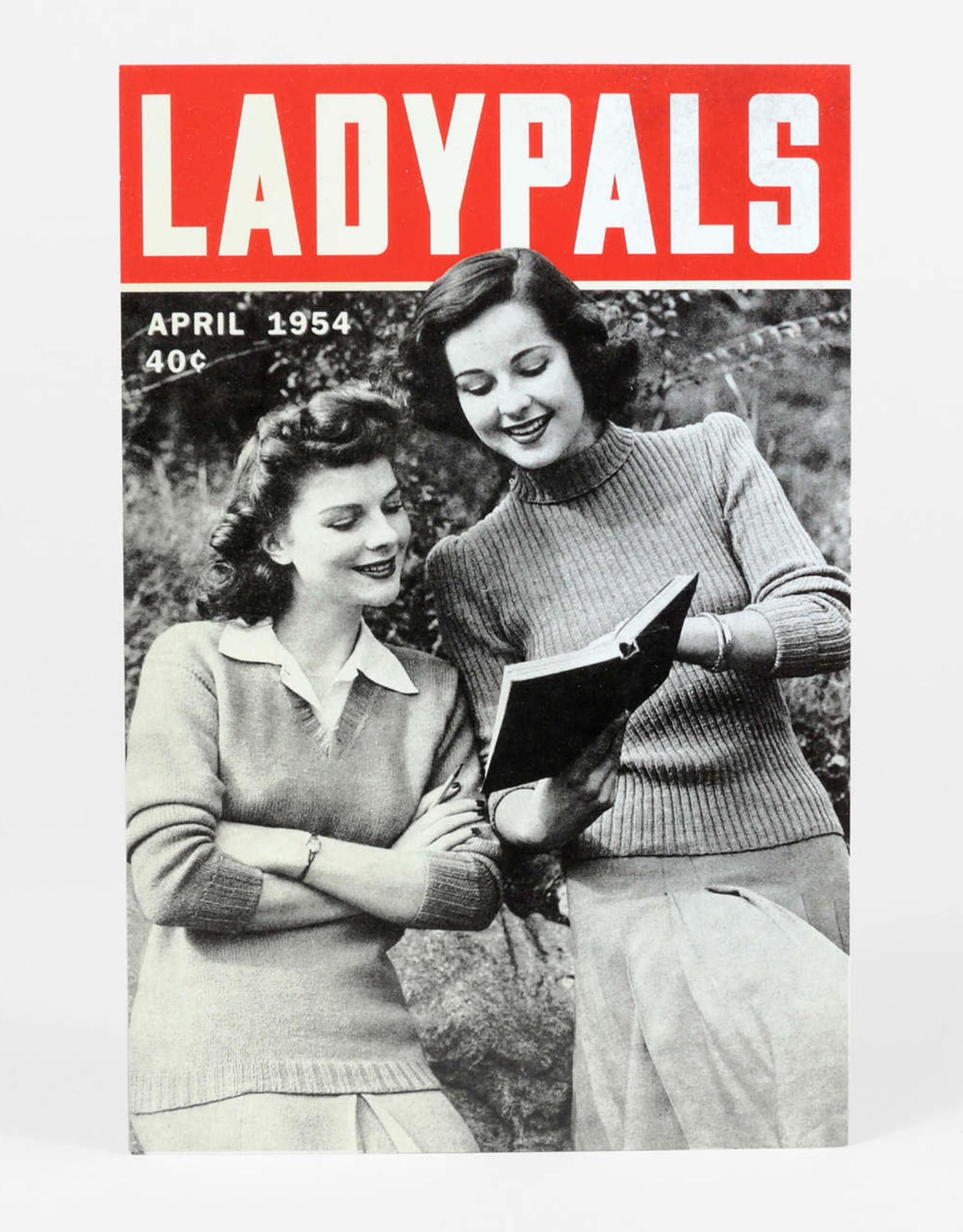Sean Tejaratchi Ladypals 1954 Postcard, by Sean Tejaratchi