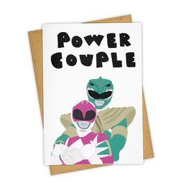 Power Couple Greeting Card - Tay Ham