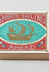 """Smooth Sailing"" Retirement Greeting Card - Hammerpress"