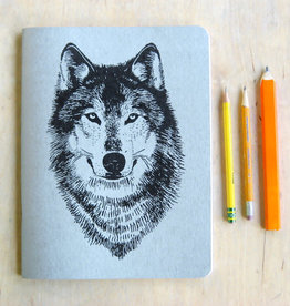 Journal Wolf Sketchbook - Little Lark