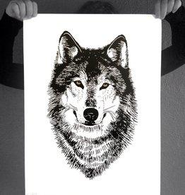 Wolf Print - Little Lark