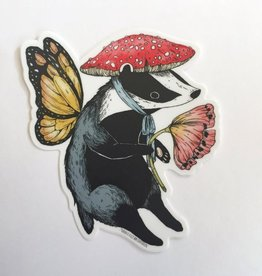 Marika Paz Badger Faerie Sticker - Marika Paz