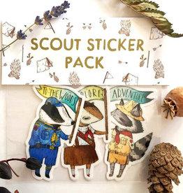 Marika Paz Scout Sticker Pack - Marika Paz