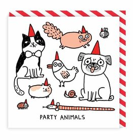 Ohh Deer Greeting Card Party Animals Square- Ohh Deer