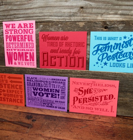 Women's Equality Collection; Postcard Set - Waterknot