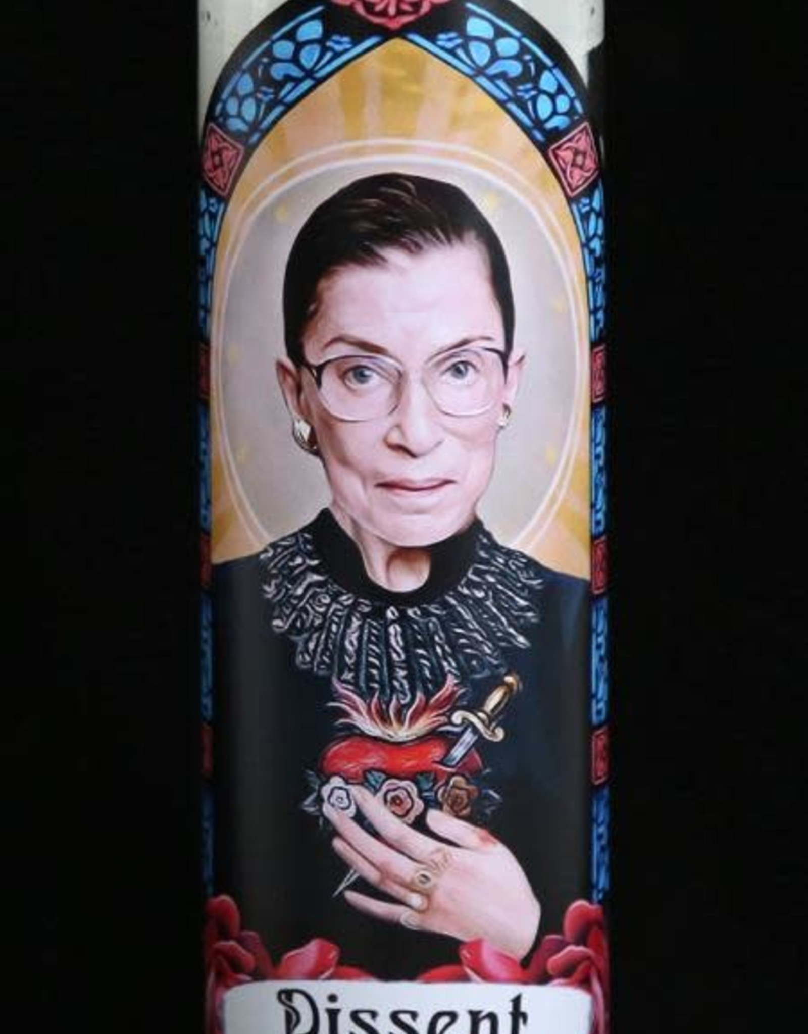 Ruth Bader Ginsburg Prayer Candle by Eternal Flame