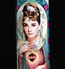 Audrey Hepburn Prayer Candle by Eternal Flame
