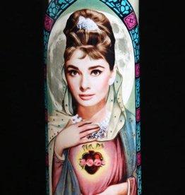 Audrey Hepburn Prayer Candle by Eternal Flame