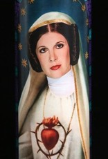 Carrie Fisher Prayer Candle by Eternal Flame