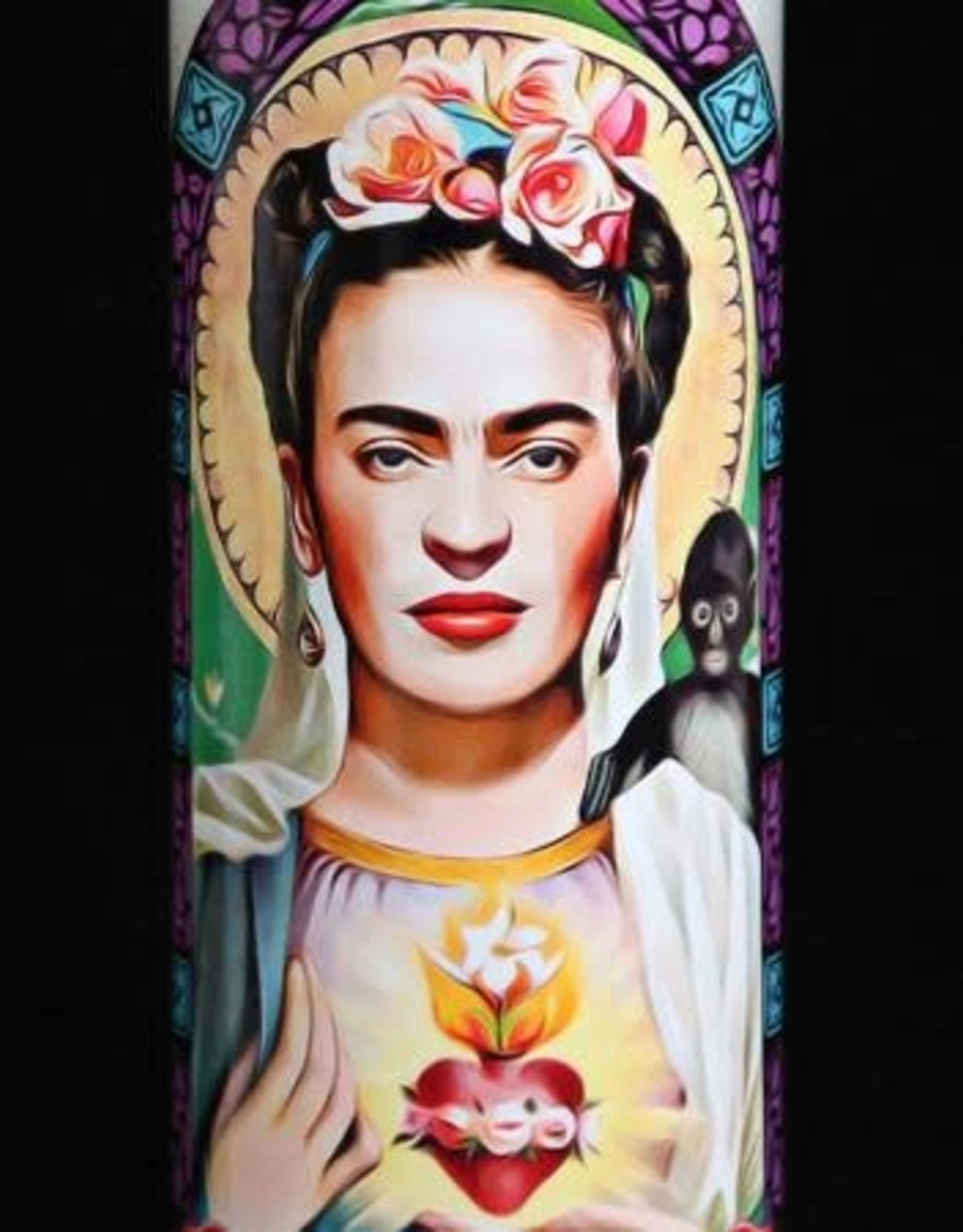 Frida Prayer Candle by Eternal Flame