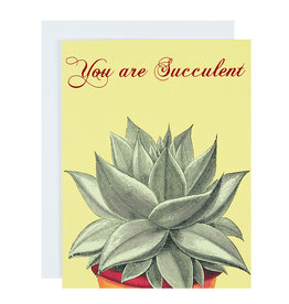 Michael Roger You are Succulent Greeting Card by Michael Roger