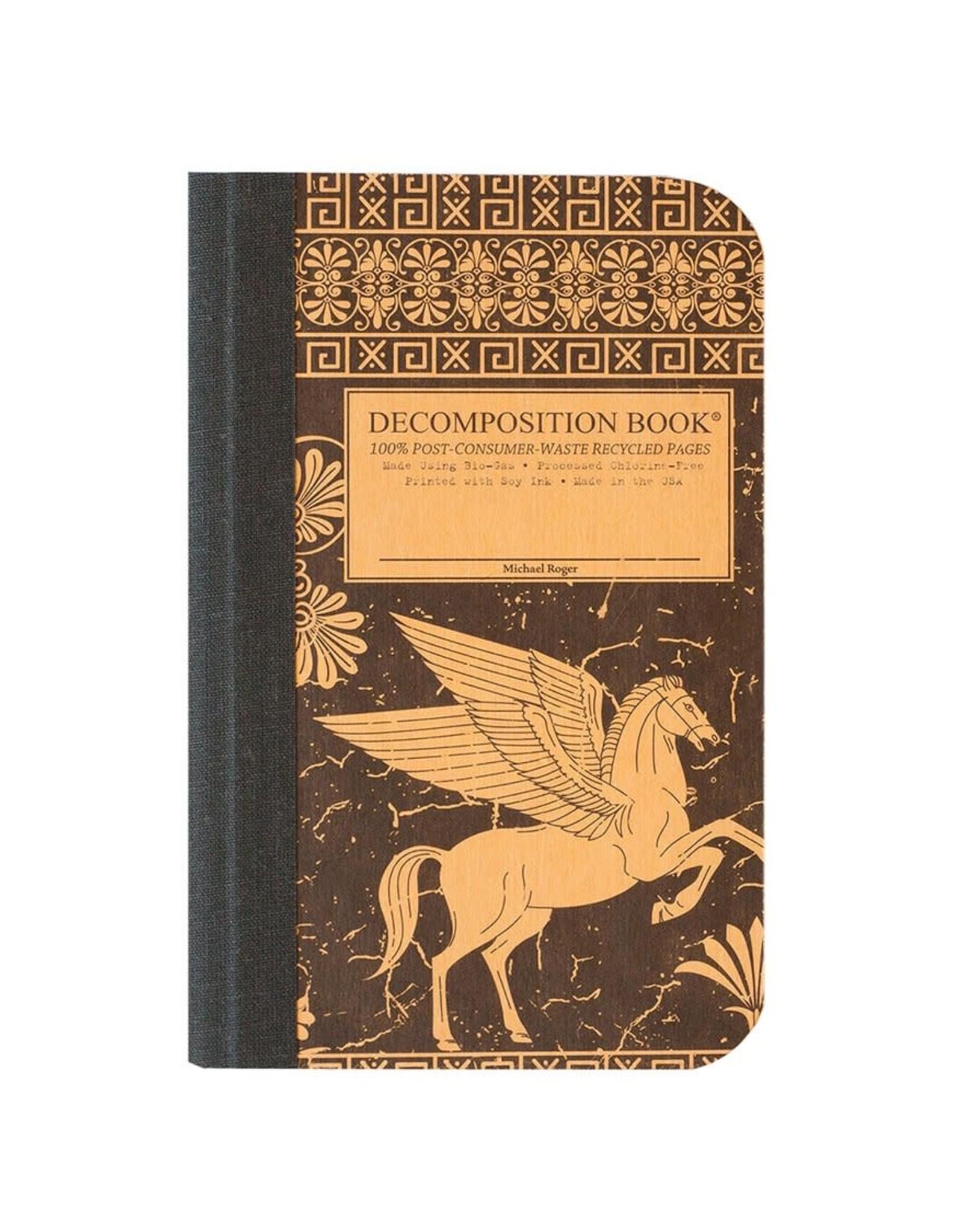 Michael Roger Decomposition Notebook Sewn Pocket Sized Pegasus