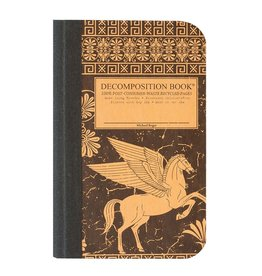 Michael Roger Decomposition Notebook Sewn Pocket Sized Pegasus