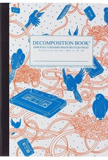 Michael Roger Decomposition Notebook Sewn Pages Bird Song