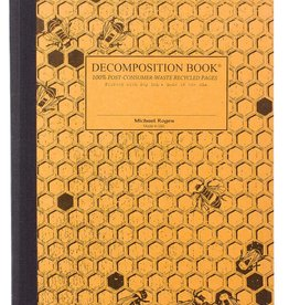 Michael Roger Decomposition Notebook Sewn Pages Honeycomb