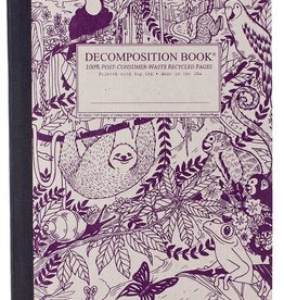 Michael Roger Decomposition Notebook Sewn Pages Rainforest