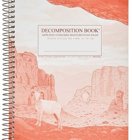 Michael Roger Decomposition Notebook Spiral Bound Moab