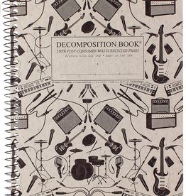 Michael Roger Decomposition Notebook Spiral Bound Plugged In