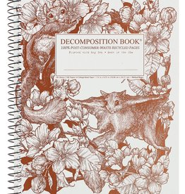 Michael Roger Decomposition Notebook Spiral Bound Squirrel
