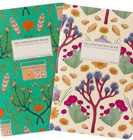 Michael Roger Decomposition Notebook Joshua Tree/Wind Wolves Set of 2