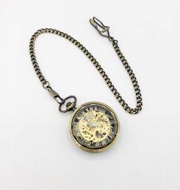 IGNY ONE - Skeleton Mechanical Pocket Watch